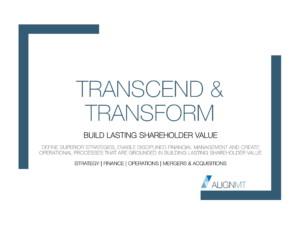 Transcend & Transform